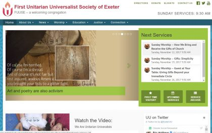 The new Exeteruu.org